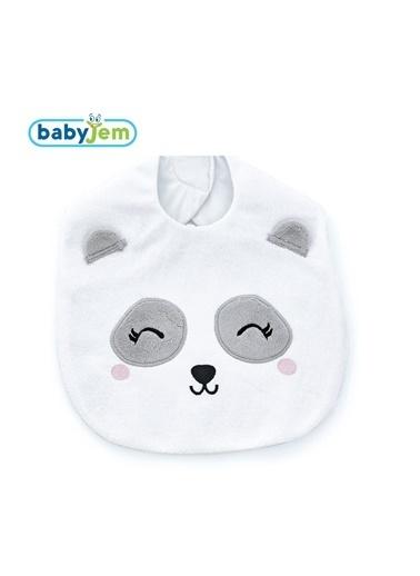 Baby Jem Mama Önlüğü Beyaz
